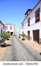 Historic downtown in Garachico on Tenerife Island, Canary Islands, Spain