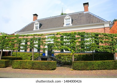 Historic downtown in Ootmarsum, Dinkelland, Province Overijssel, Netherlands