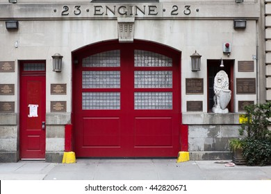 Historic Engine Company 23 Firehouse in Manhattan.