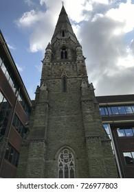 A historic english church in Horsham