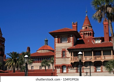 Historic Flagler College located in St. Augustine Florida