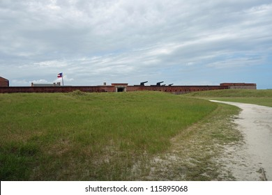Historic Fort Clinch State Park on Amelia Island in Florida, USA