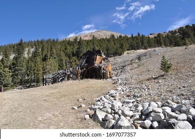historic gold mine in saint elmo Colorado