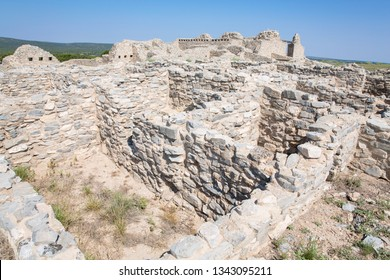 The historic Gran Quivira Mission, Salina Pueblo Missions National Monument in New Mexico, USA
