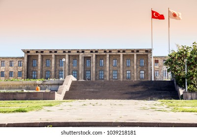 Historic Grand National Assembly Building, Ankara, Turkey