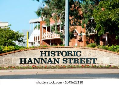 Historic Hannan Street - Kalgoorlie - Australia