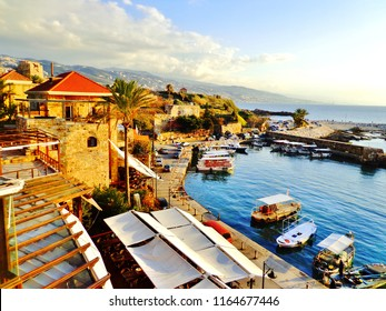Historic Harbour and Waterfront in the Ancient City of Byblos - Beirut, Lebanon