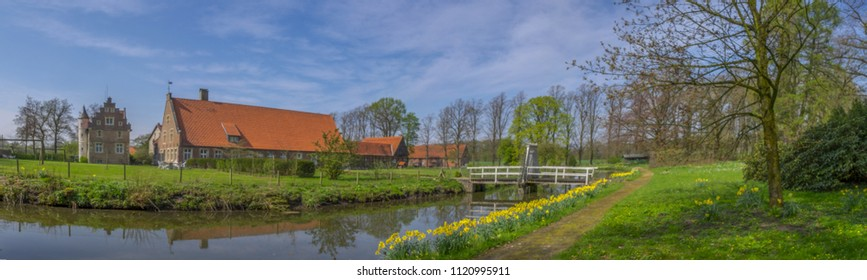 Historic Gräftenhof Haus Runde, in the  Muensterland, Germany