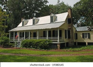Historic Heyward house in Bluffton area of Hilton Head, South Carolina