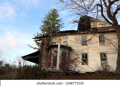 Historic home destroyed by arson house fire