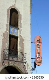 The historic Hotel Del Sol in Yuma, AZ.