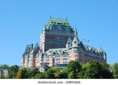 Historic Hotel Frontenac in Quebec City