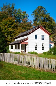 Historic House at Great Smoky Mountains National Park