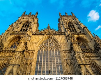 The historic and iconic York Minster, York, England