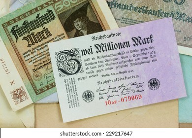 Historic Inflation: Banknotes from the Period of German Hyperinflation in 1922-1923