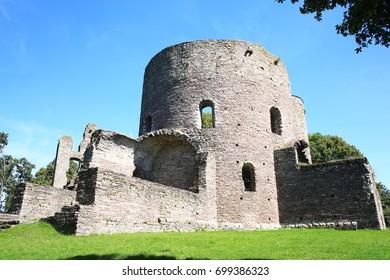 The historic Krukenburg in Hessen, built around the year 1000, Germany
