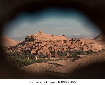 Historic Ksar Ait Benhaddou in Morocco