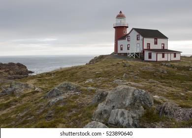 Historic Lighthouse on the Atlantic Coast