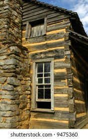 Historic Log Cabin in Cades Cove, TN