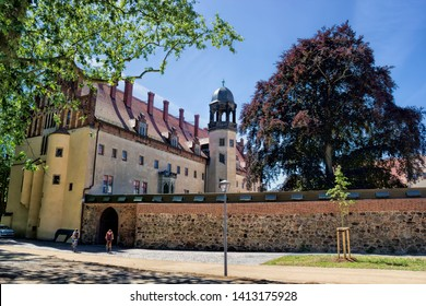 historic Luther house in wittenberg, germany