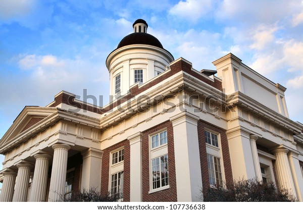 Historic Madison county court house built in 1854