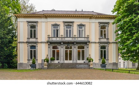 Historic manor house In the Dutch city of Breda. The property was built in the year 1862 and now owned by the municipality of Breda.