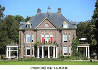 The historic Manor House 't Walien in Gelderland, The Netherlands, built 1915, architect J.W. Hanrath (1867-1932)