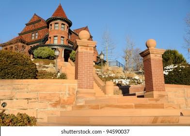 Historic McCune Mansion in Salt Lake City, Utah
