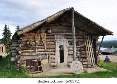 historic miner's cabin