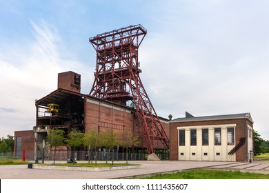 historic mining tower gelsenkirchen germany
