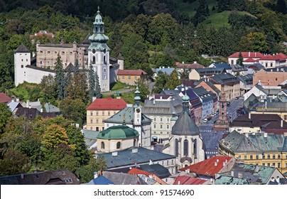 Historic mining town Banska Stiavnica, Slovakia UNESCO