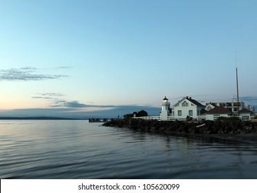The historic Mulkiteo Lighthouse Station