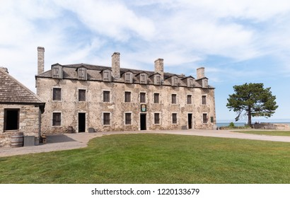 Historic Old Fort Niagara in New York State