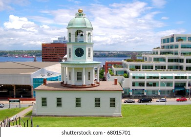 Historic Old Town Clock in Halifax, Canada