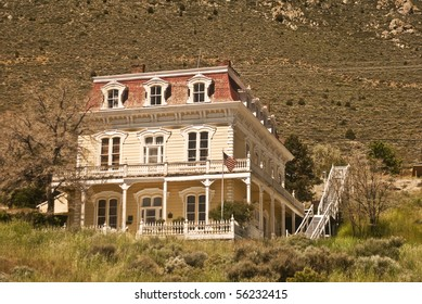 Historic Old West Victorian from Virginia City, Nevada