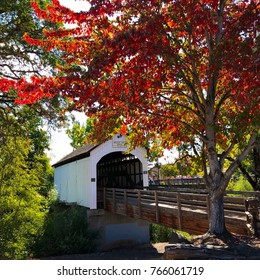 Historic Oregon Covered Bridge