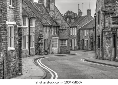 Historic Oundle Town with its many old stone buildings Northamptonshire