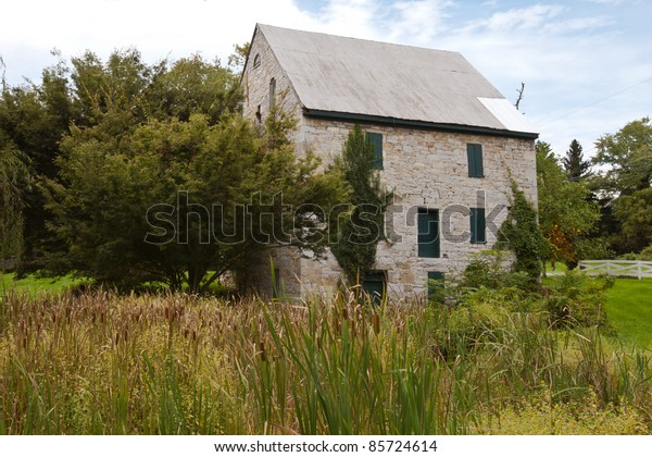 Historic Patterson Mill built in the 1800's