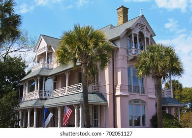 Historic Pink House in Charleston SC