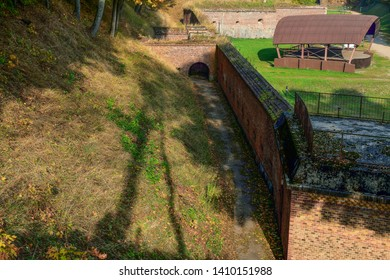 Historic Prussian fortress Boyen in Gizycko, Masuria, Poland