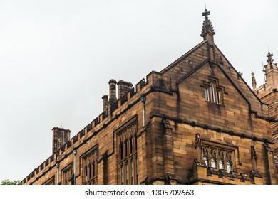 Historic Quadrant Building at Sydney University, Australia