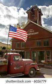 Historic Ridgway Colorado Firehouse