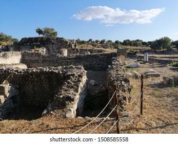 Historic ruins of Alexandria Troas