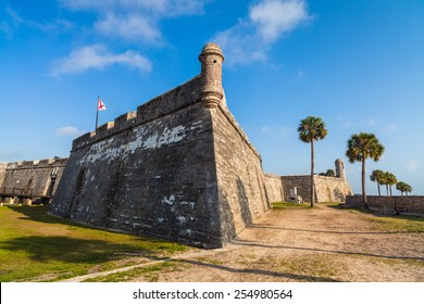 Historic Saint Augustine Fort in Florida.