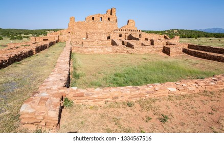 Historic Salinas Pueblo Missions National Monument in New Mexico, Abó Ruins, USA