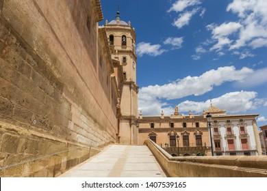 Historic San Patricio Collegiate church in Lorca, Spain