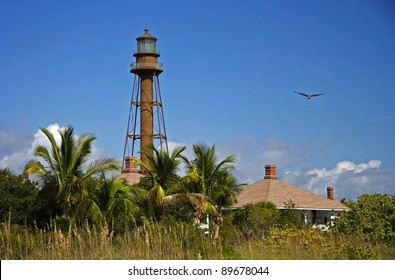 Historic Sanibel Island Lighthouse in South Florida