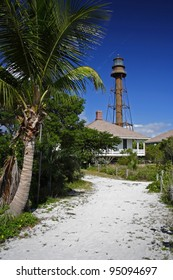 The historic Sanibel Island Lighthouse in South Florida