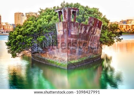 Historic Shipwreck in Homebush