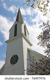 Historic St. Paul's Lutheran Church in Bremen Indiana